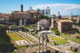 sites archéologiques à Rome
