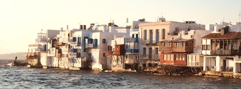 vile de lux in mykonos grecia