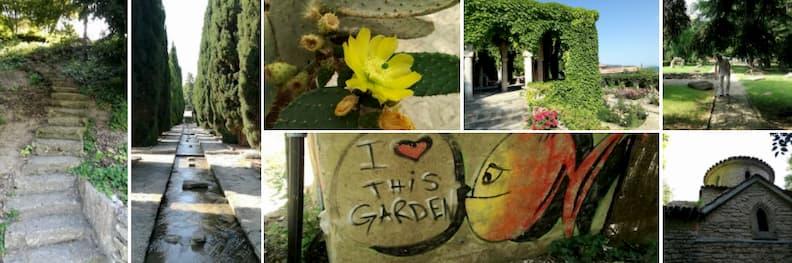 vizita gradina botanica balcic bulgaria