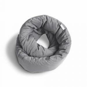 infinity travel pillow grey