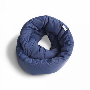 infinity travel pillow navy