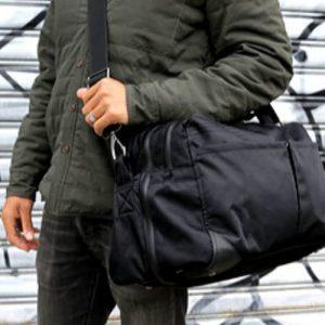 pakt one duffle bag black