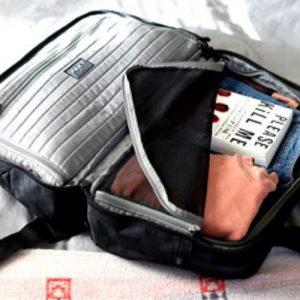 pakt one duffle bag interior