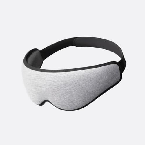 ergonomic eye mask midnight grey