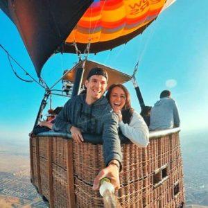 Hot Air Balloon Ride at Sunrise Albuquerque