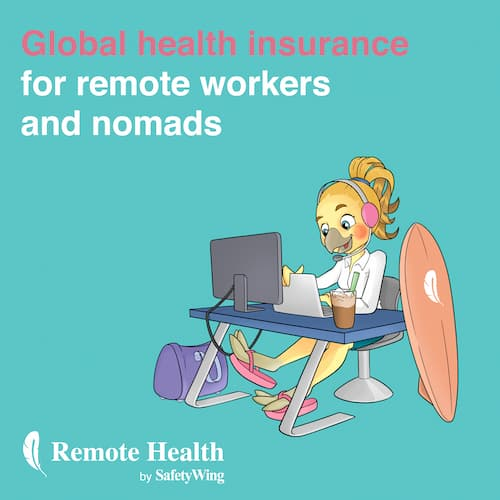 SafetyWing Remote Health Insurance
