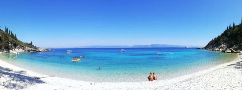 2021 travel destinations orkos beach paxos greece