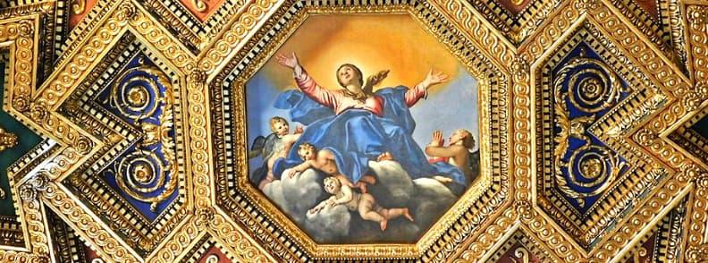 Basilica of Our Lady in Trastevere Basilica di Santa Maria in Trastevere church in Rome