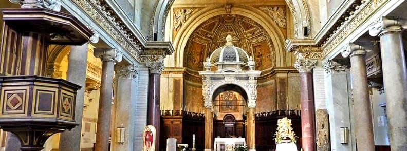 Basilica of Saint Chrysogonus Basilica di San Crisogono church in Rome