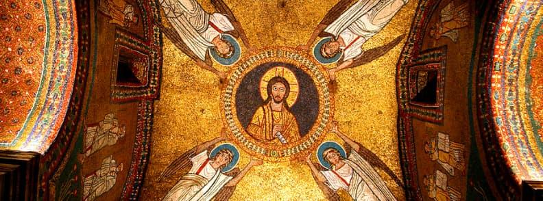 Basilica of Saint Praxedes Basilica di Santa Prassede church in Rome