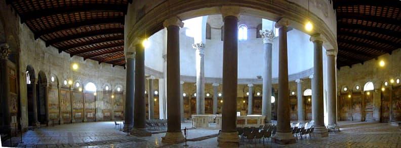 Basilica of Saint Stephen in the Round on the Celian Hill Basilica di Santo Stefano Rotondo al Celio church in Rome