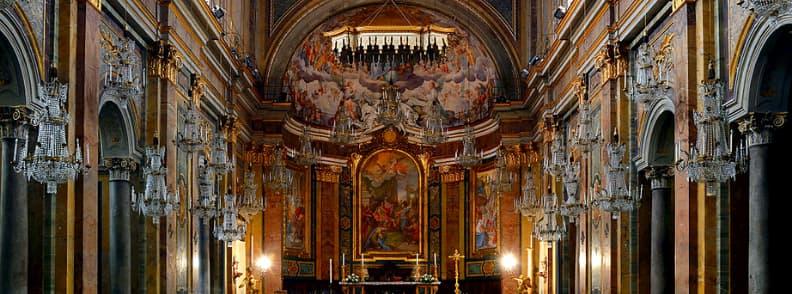 Basilica of Saints John and Paul on the Celian Hill Basilica Santi Giovanni e Paolo al Celio church in Rome