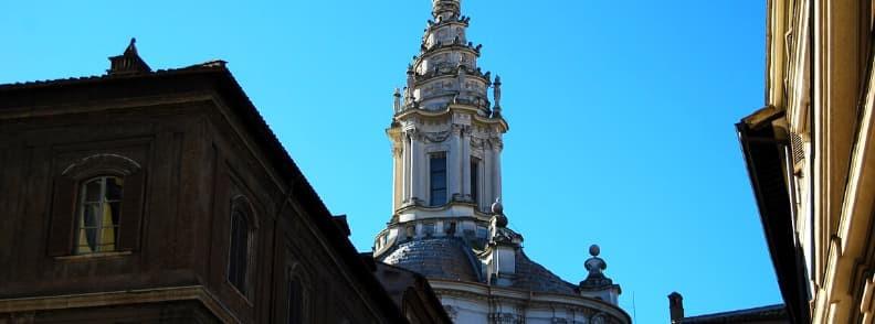 Chiesa di Sant Ivo alla Sapienza church in Rome