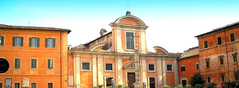 Church of Saint Francis at Ripa Grande Chiesa di San Francesco a Ripa Grande church in Rome