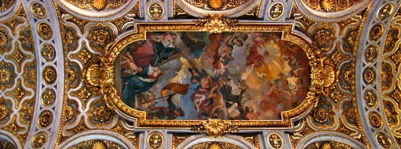 Church of Saint Louis of the French San Luigi dei Francesi church in Rome