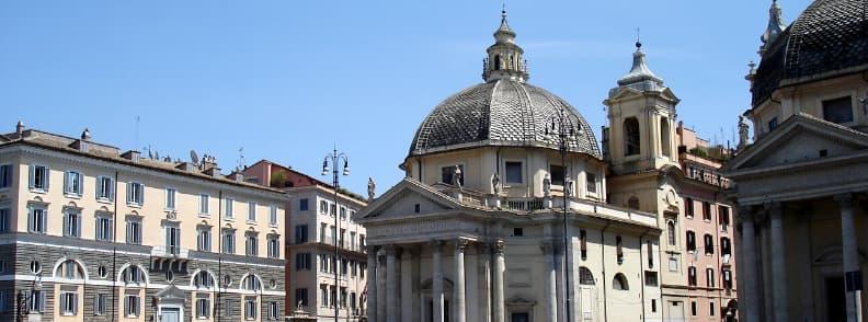 Church of Saint Mary in Montesanto Chiesa di Santa Maria in Montesanto church in Rome