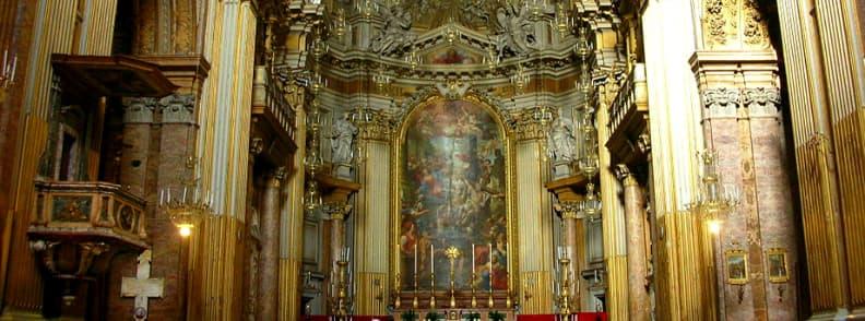 Church of the Holy Apostles Basilica dei Santi Apostoli or Basilica dei Santi Dodici Apostoli church in Rome