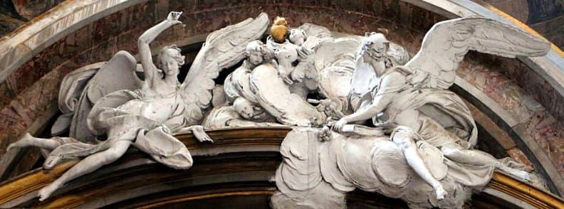 Minor Basilica of Saint Lawrence in Lucina Basilica Parrochiale San Lorenzo in Lucina church in Rome