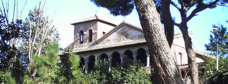 Minor Basilica of Saint Saba Chiesa di San Saba church in Rome
