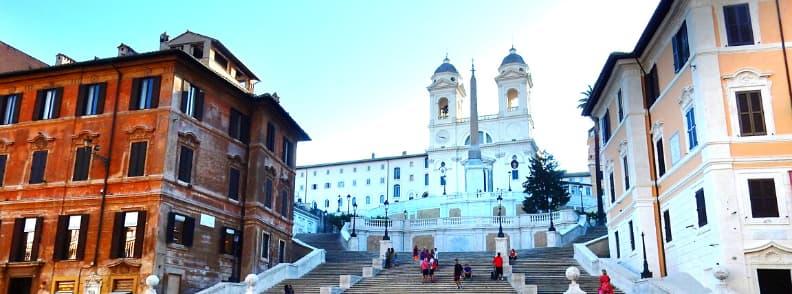 Santissima Trinita dei Monti church in Rome