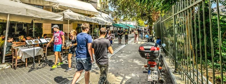 adrianou street athens