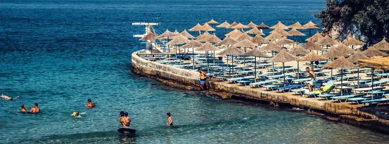 albania travel costs saranda sarande