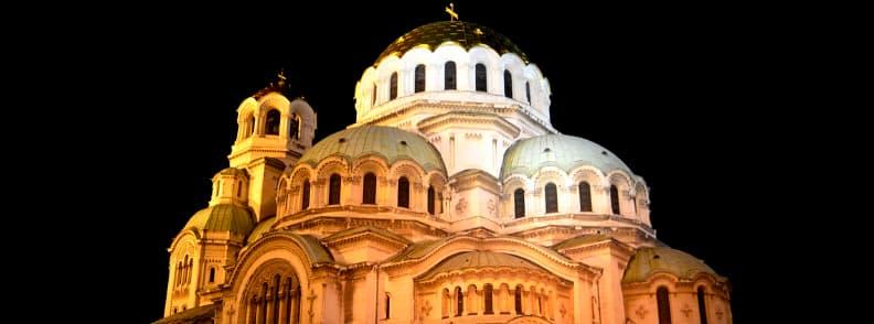alexandar nevski cathedral sofia bulgaria