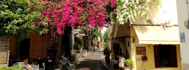anafiotika street athens