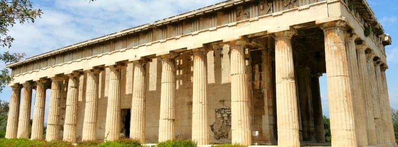 ancient agora athens archaeological site