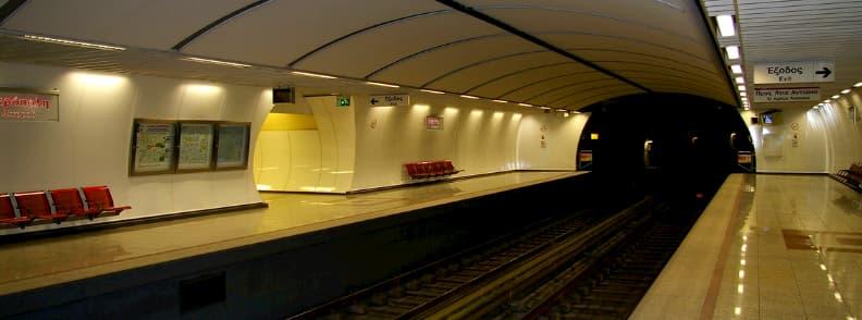 athens public transport map