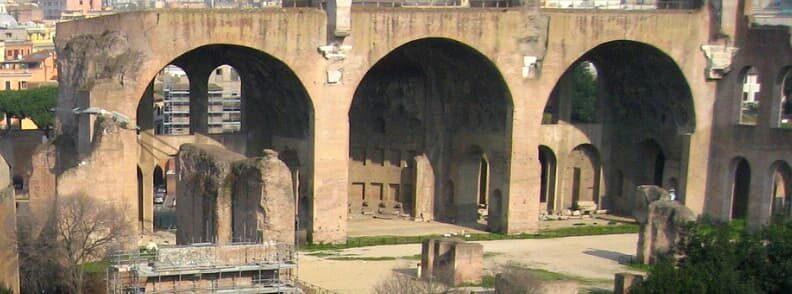 basilica of constantine and maxentius roman forum