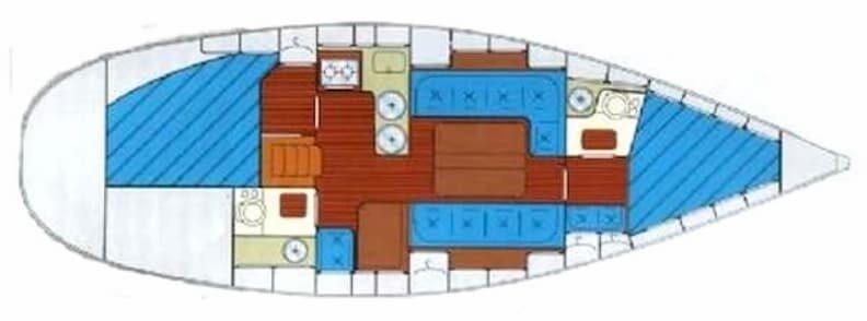 bavaria 350 lagoon boat for sale in greece