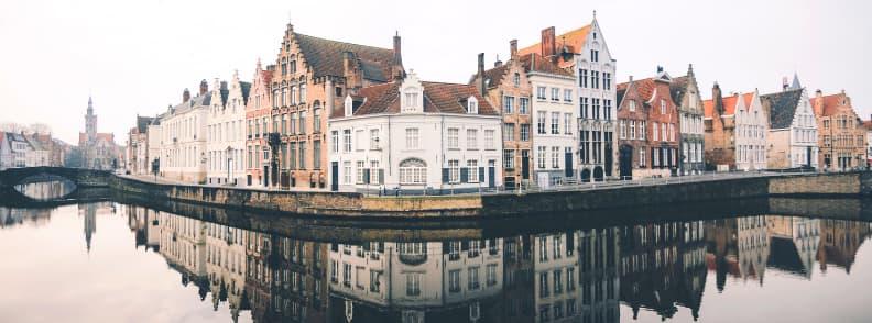 bruges travel costs belgium