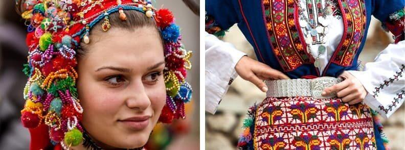 bulgarian costume traditions in bulgaria