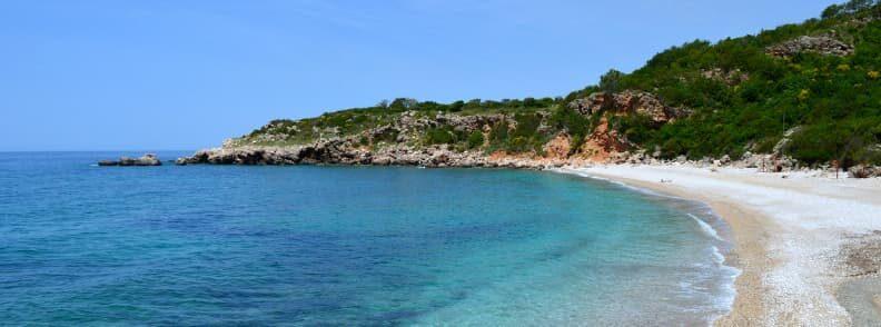 buljarica beach montenegro seaside