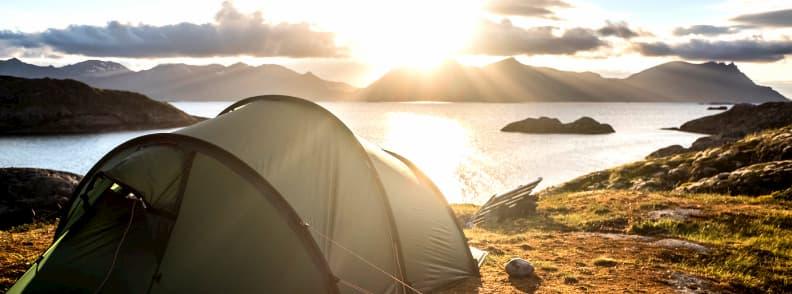 camping in europe henningsvær norway