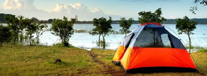 camping summer travel destination