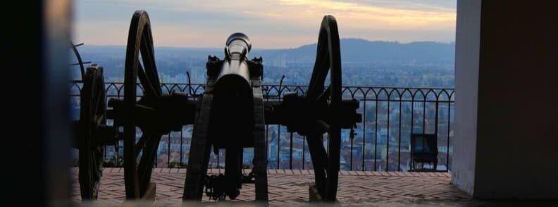 cannon stallbastei schlossberg graz