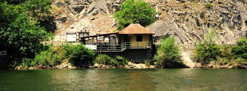canyon matka boat ride treska river