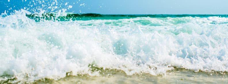 cheap summer vacation at the beach