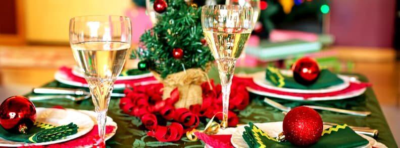 christmas dinner in europe