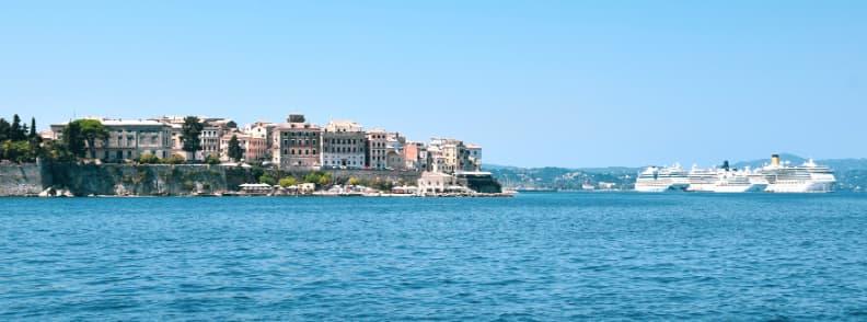 corfu travel costs greek islands
