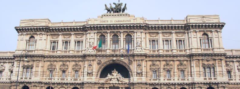 corte suprema di cassazione piazza dei tribunali rome