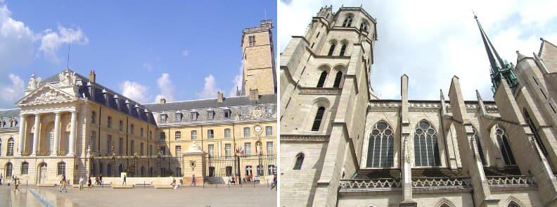dijon places away from paris