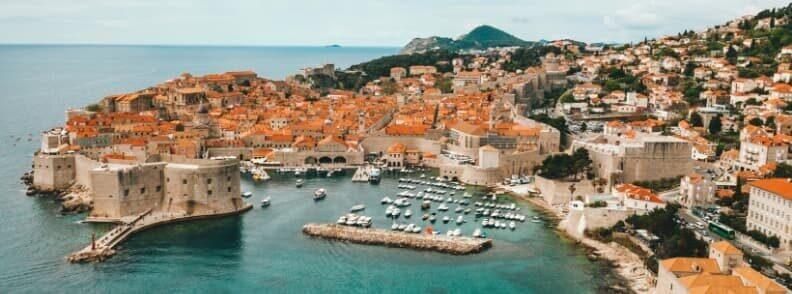 dubrovnik sailing in croatia