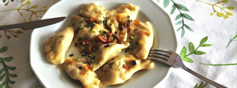 eat pierogi krakow food
