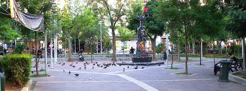 exarchia square athens