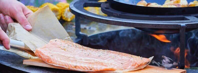 fish barbecue in austria