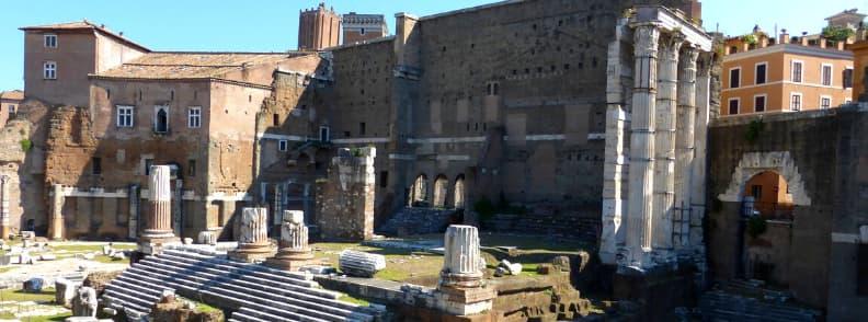 forum augustus rome archaeological sites