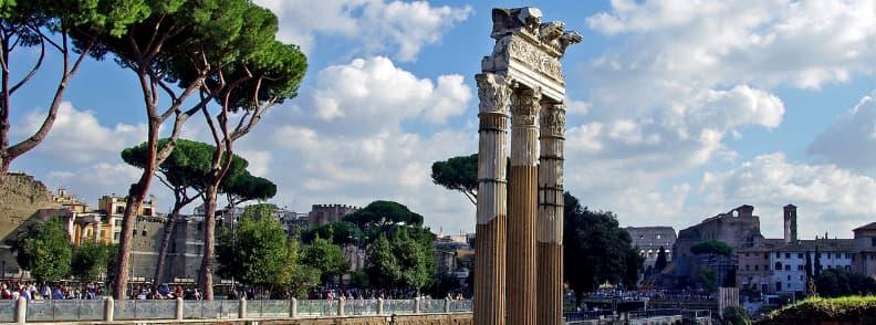 forum caesar rome archaeological sites